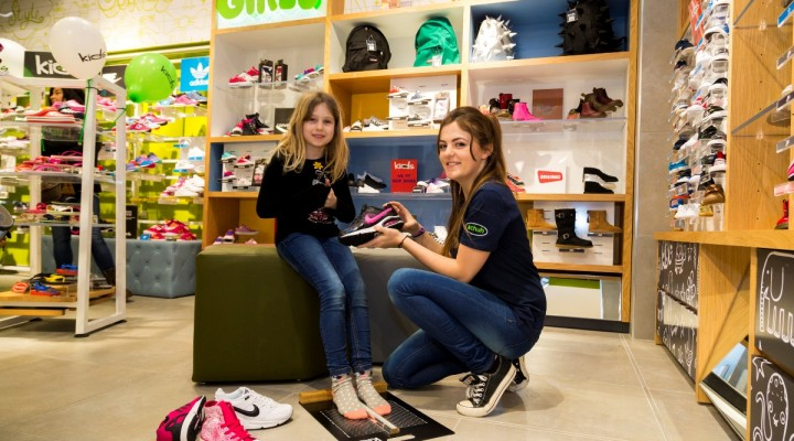 best website 88da9 9d409 Swansea kids are the heart and sole of new Schuh KIDS 'shop ...