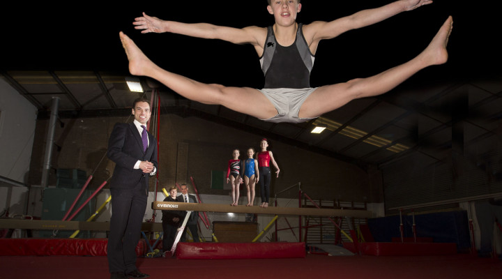 Gymnastics club's giant leap wins high praise from Welsh ...